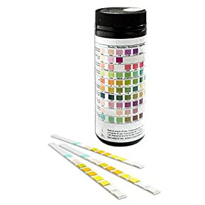 One Step 10 Parameter Professional/GP Urinalysis Multisticks Urine Strip Test Stick Strips – Pack of 100 Strips