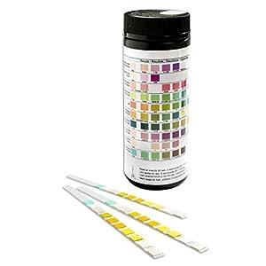 One Step 10 Parameter Professional/GP Urinalysis Multisticks Urine Strip Test Stick Strips – Pack of 100 Strips