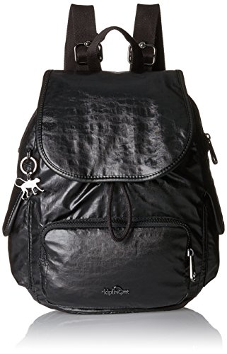 Lacquer Black City Women's Backpack Night H31 S Pack Kipling nWqgwCHC
