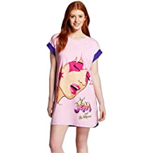 Briefly Stated Jem and The Holgrams Ladies Nightshirt for Women