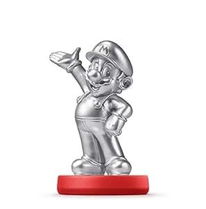 Silver Mario amiibo - Wii U Super Mario Series Edition