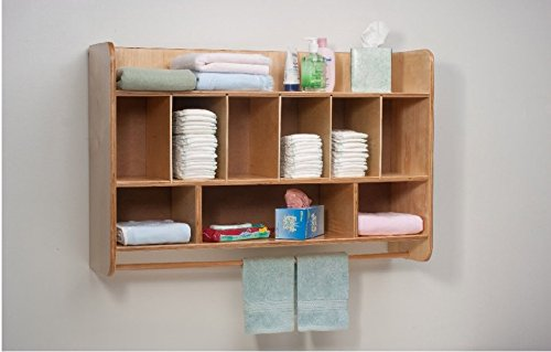 Whitney Brothers Hang On The Wall Diaper Unit-The Perfect Solution to Your Diaper Storage Problem by Whitney Bros/Whitney Brothers