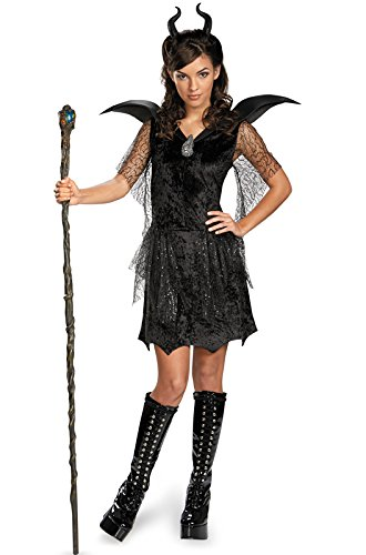 Disney Maleficent Movie Black Gown Tween