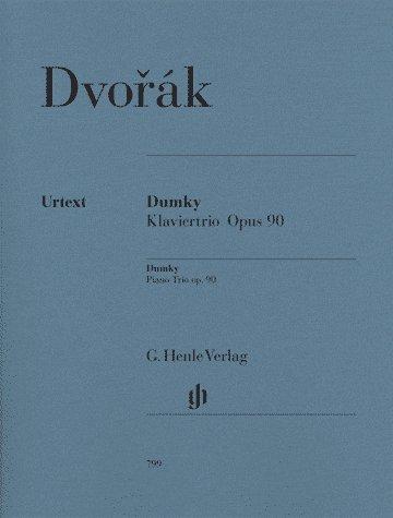Dvorak: Dumky Piano Trio op. 90 (Henle Music Folios)
