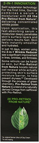 Garnier SkinActive Ultra-Lift Wrinkle Reducer 2in1 Face Moisturizer, 1.7 fl. oz.