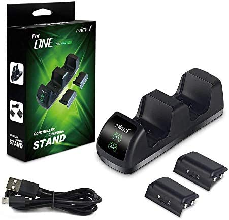 Xbox One Controller Charger with LED Indicator, Dual Docking