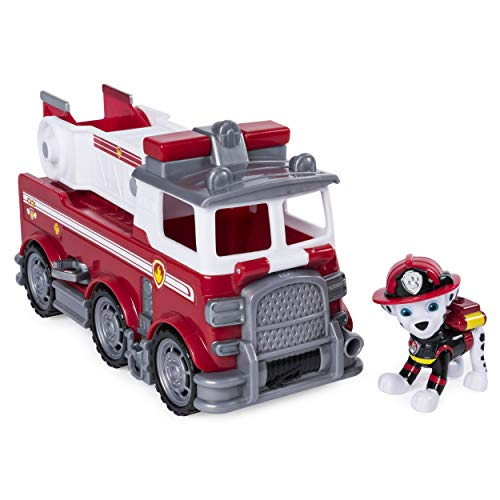 Paw Patrol Fire Dog (Paw Patrol Ultimate Rescue - Marshall's Ultimate Rescue Fire Truck with Moving Ladder & Flip-Open Front Cab, for Ages 3 &)