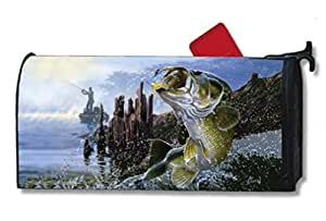 MailWraps Big Catch Mailbox Cover #01425