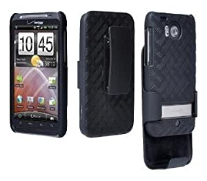 Bloutina Verizon Wireless OEM Shell Holster Combo HTC Thunderbolt Adr6400 ADR 6400 Sealed in Verizon Retail Package