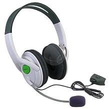 eForCity Headset w/ Mic Compatible with Microsoft Xbox 360 / Xbox 360 Slim