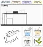 Lechuza Delta Self-Watering Garden Planter