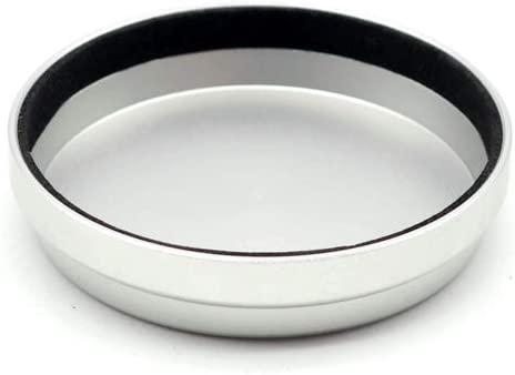 Black Metal Front Lens Cap Cover Protect for Fuji Fujifilm X100 X100F X100S X100T Black//Silver