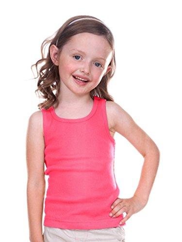 - Kavio! Little Girls 3-6X Beater Tank Hot Pink 6X