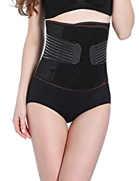 Aivtalk Adjustable Postpartum Support Girdle Waist Trainer Tummy Trimmer Belt
