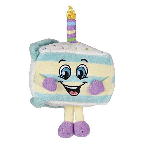 Birthday Cake Plush (Whiffer Sniffers Birthday Cake Jake, Huggable Super Sniffer Cake Scented Plush, 11