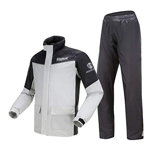 ZBXK Wasserdichter Anzug für Männer Frauen Regenbekleidung Jacke Hosen Set, 100% wasserdicht, atmungsaktiv, Winddicht…
