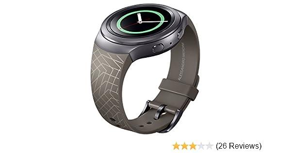 Samsung Smartwatch Replacement Band for Samsung Gear S2 - Dark Brown