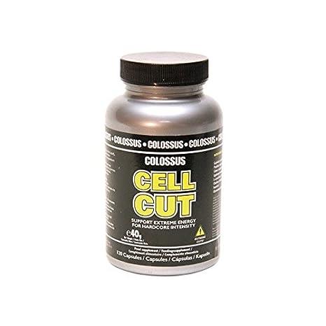 Definidor quemador de grasa CELL-CUT - 120 cápsulas: Amazon.es: Salud y cuidado personal