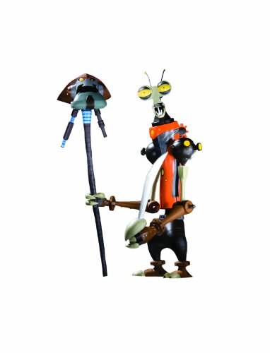 DC Unlimited Ratchet  and  Clank: Series 2: Rusty Pete Action Figure (Ratchet And Clank Quest For Booty Weapons)