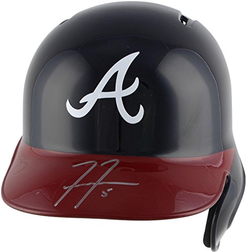 Freddie Freeman Atlanta Braves Autographed Replica Batting Helmet - Fanatics Authentic Certified - Autographed MLB (Freeman Autographed Baseball)