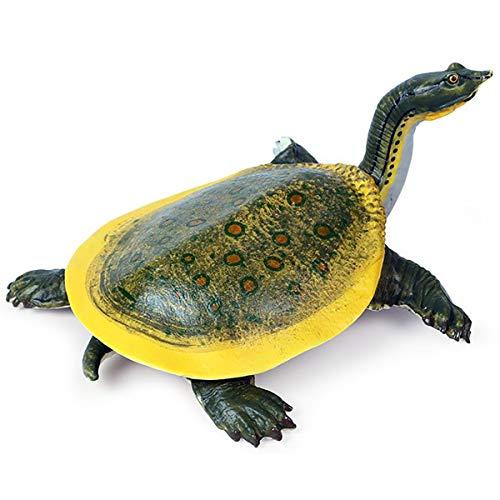 Kolobok – Sea Safari Animals Action Figures – Sea Turtle – Zoo Animals Educational Toys - Green -