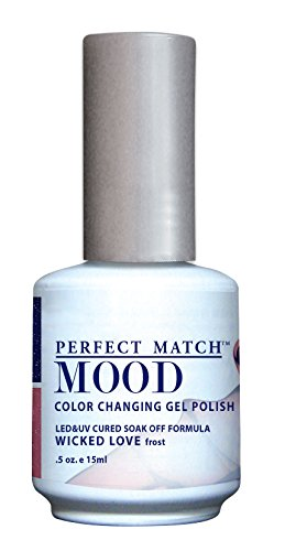 LECHAT Perfect Match Mood Gel Polish, Wicked Love, 0.500 Ounce