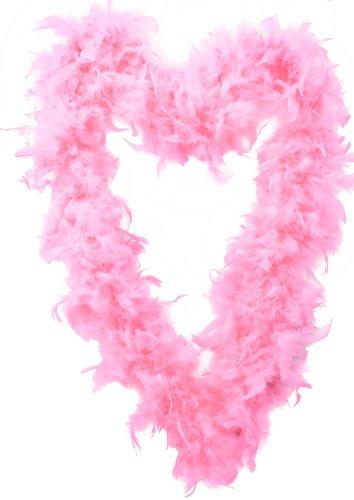 Pink Flapper Boa (Feather Boa 65G Hen Night Accessory Fancy Dress Flapper)