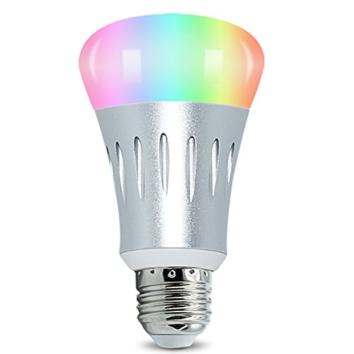 led smart light bulb wifi light multicolored color changing bulbs app controlled daylight. Black Bedroom Furniture Sets. Home Design Ideas