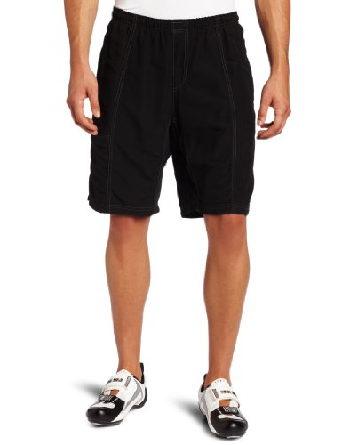 Canari Cyclewear Men's Mountain Canyon Gel Baggy Padded Cycl