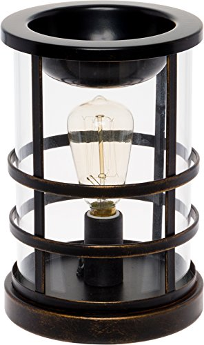 (Mindful Design Edison Bulb Wax Warmer - Freshener Wax Melter (Oil Rubbed Bronze))