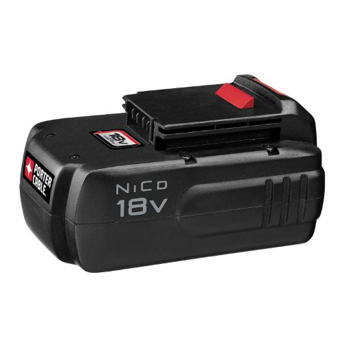 Porter Cable Battery Chargers (PORTER-CABLE PC18B 18-Volt NiCd Cordless Battery Pack)