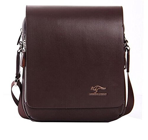 EconoLed Men's Genuine Leather/PU Authentic kangaroo kingdom Shoulder Bag Messenger Bags …