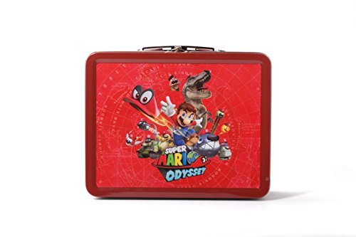 Collectible Lunchbox Kit for Nintendo Switch – Super Mario Odyssey: Character Splash Edition