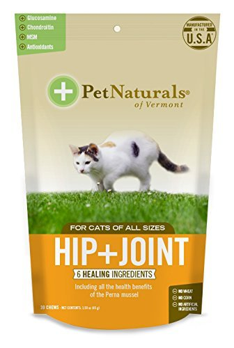 Hip + Joint Chew Supplements for Cats Size:Pack of - Joint Cat Hip