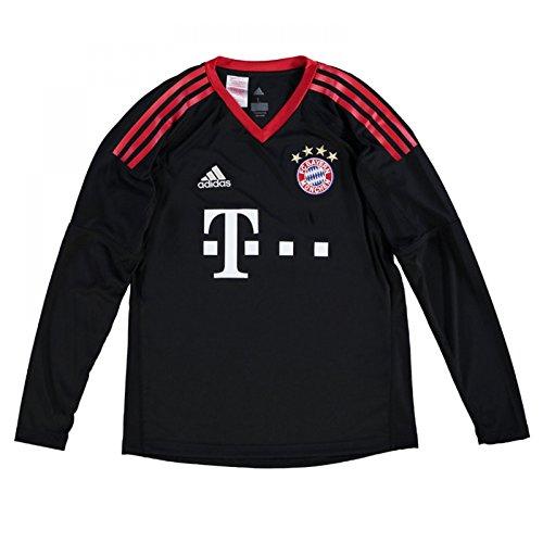(adidas Bayern Munich Kids Home Goalkeeper Shirt 2017/18-13-14 Years)