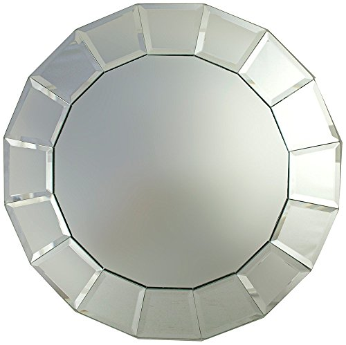 13' Round Plate (Mirror Charger Plate)