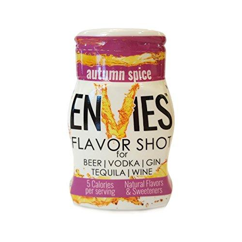 Envies Flavor Shot Autumn Spice Squeeze Mini Bottle Cocktail Mixer