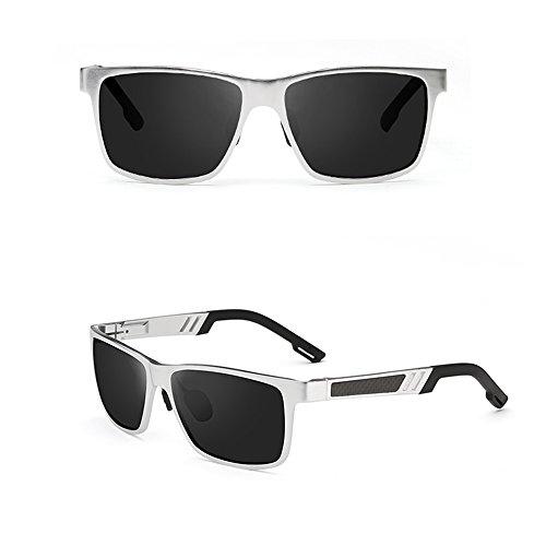 Gafas UV400 de Gafas aviador D Gafas 100 sol Gafas de para conducción Gafas de polarizadas B sol de sol de hombre SSSX Color deportivas sol de WaP47qBUxv