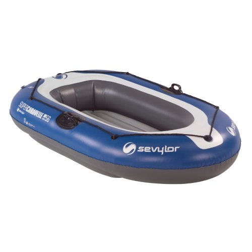 Sevylor Super Caravelle 2-Person Inflatable Boat with Pump a
