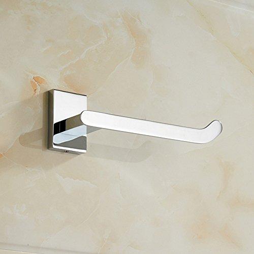 Shelfhx Wall-Mounted Brass Toilet Paper Holder Bathroom Bathroom Roll Holder Box Toilet Paper Separator Kitchen Sink Tissue Rack by Shelfhx