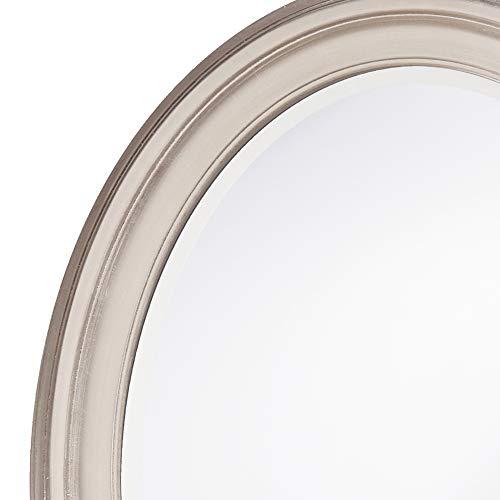 Buy hanging mirror brushed nickel