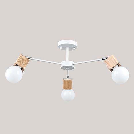 LOFT Modern plafón Elegant Fácil techo lámpara blanco y ...