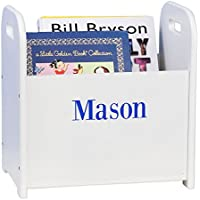 MyBambino Personalized Boys with name only Book Holder and Rack