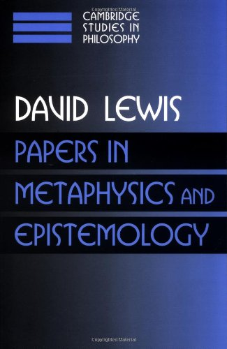 Papers in Metaphysics and Epistemology: Volume 2 (Cambridge Studies in Philosophy)