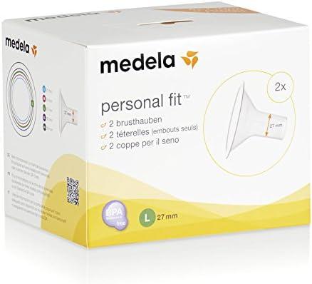 maat L PersonalFit borstschilden 2 stuks 27 mm Medela