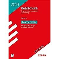 Lösungen zu Original-Prüfungen und Training Realschule - Mathematik - Hessen