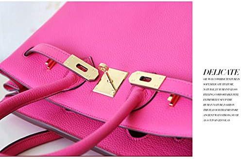 Borsa A Mano, Elegante Borsa Da Donna ZRZZ, Shopping Bag, 25 * 14 * 21 Cm (rosa Rossa)