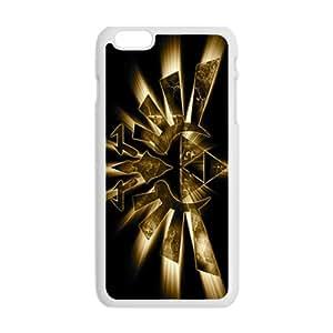 Shinign Golden Logo Hot Seller Stylish Hard Case For Iphone 6 Plus