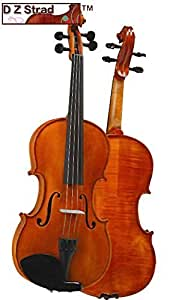 D Z Strad Violin Model 101 with Solid wood Full Size 4/4 with Case, Bow, and Rosin