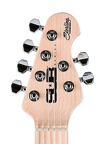 Sterling by Music Man S.U.B. Series Silo3 Silhouette Electric Guitar, Black by Sterling by Music Man (Image #2)